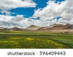 mount qomolangma scenic highway   Shutterstock . vector #596409443