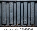 abstract old grunge rusty... | Shutterstock . vector #596410364