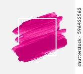 art abstract background brush... | Shutterstock .eps vector #596433563