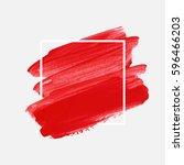 art abstract background brush... | Shutterstock .eps vector #596466203
