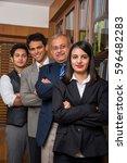 indian business people  ... | Shutterstock . vector #596482283