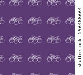 vector seamless pattern with... | Shutterstock .eps vector #596488664