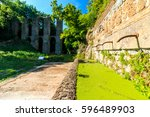 natural reserve of monterano | Shutterstock . vector #596489903