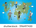 global business. business... | Shutterstock . vector #596497430