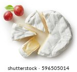 Piece Of Camembert Cheese...