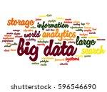 vector concept or conceptual... | Shutterstock .eps vector #596546690