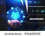 business  technology  internet... | Shutterstock . vector #596600039