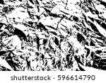 grunge black and white urban... | Shutterstock .eps vector #596614790
