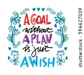 A Goal Without A Plan Is Just A ...
