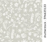 seamless raster pattern ... | Shutterstock . vector #596635133