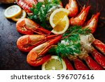 Beautiful Shrimp With Crab Mea...