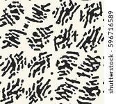abstract folk brush stroke...   Shutterstock .eps vector #596716589