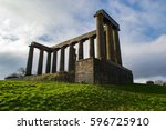 edinburgh s disgrace on carlton ... | Shutterstock . vector #596725910