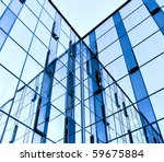 abstract glass wall of business ... | Shutterstock . vector #59675884