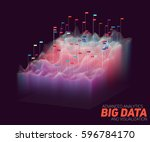 vector abstract big data... | Shutterstock .eps vector #596784170
