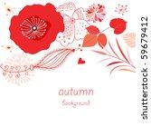 flower background | Shutterstock .eps vector #59679412