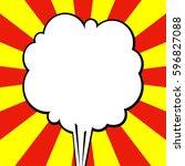 abstract creative concept... | Shutterstock .eps vector #596827088