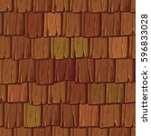 Seamless Wood Roof Tiles