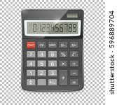 Vector Realistic Calculator...