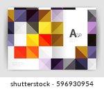 vector square minimalistic...   Shutterstock .eps vector #596930954