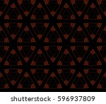 modern stylish texture.... | Shutterstock . vector #596937809