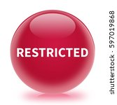 Restricted Icon. Internet...