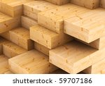 wood timber  construction... | Shutterstock . vector #59707186