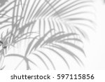 abstract background of shadows... | Shutterstock . vector #597115856