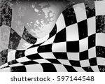 Race Flag  Checkered Flag...
