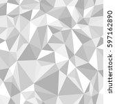 vector seamless pattern.... | Shutterstock .eps vector #597162890