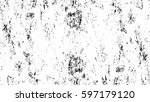 grunge black and white urban... | Shutterstock .eps vector #597179120
