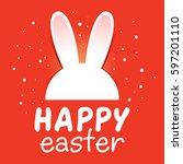 vector stock of easter... | Shutterstock .eps vector #597201110