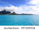 bora bora | Shutterstock . vector #597209918