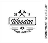 adventure logo | Shutterstock .eps vector #597211289