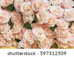 Stock photo beautiful rose flowers background 597312509