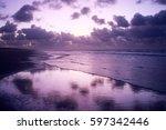 ameland beach. | Shutterstock . vector #597342446