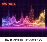 vector abstract big data... | Shutterstock .eps vector #597395480