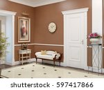elegant classic and luxurious... | Shutterstock . vector #597417866