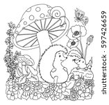 vector illustration of a... | Shutterstock .eps vector #597426659
