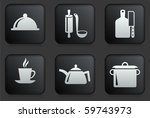 food preparation icons on...   Shutterstock .eps vector #59743973