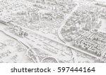 3d Image Render Aerial View Of...