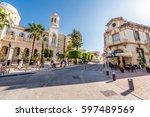 limassol  cyprus   march 18 ... | Shutterstock . vector #597489569