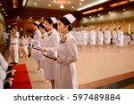 bangkok  thailand   may 19 ... | Shutterstock . vector #597489884