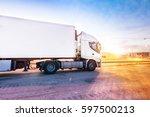 segovia  spain   february  22 ... | Shutterstock . vector #597500213