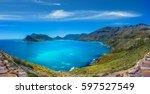 chapmans peak drive in cape...   Shutterstock . vector #597527549