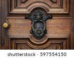 The Wooden Door And Vintage...