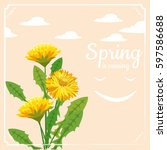 Spring Flowers Dandelion ...