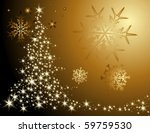 christmas tree | Shutterstock .eps vector #59759530