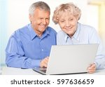 senior adult. | Shutterstock . vector #597636659