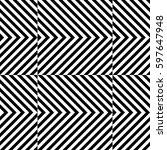vector seamless pattern.... | Shutterstock .eps vector #597647948